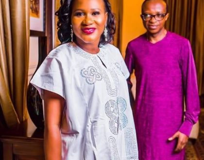 Read the sweet message from Pastor David Adeoye to his wife Sunmbo Adeoye