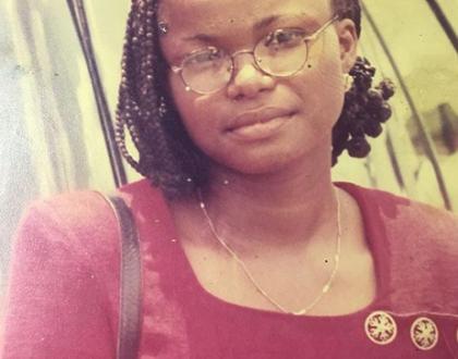Throwback photo of actress Iyabo Ojo at age 19