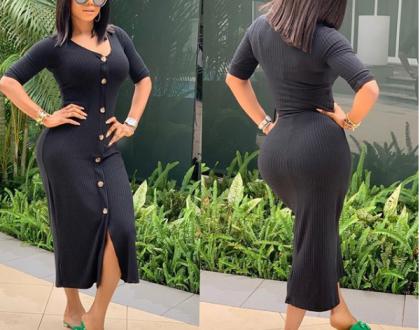 Toke Makinwa says only broke men complain about women loving money