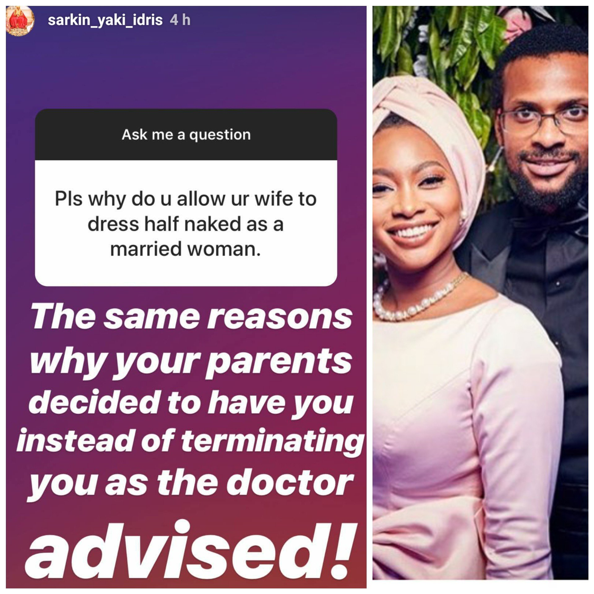 See the savage response Ajimobi's son gave a troll