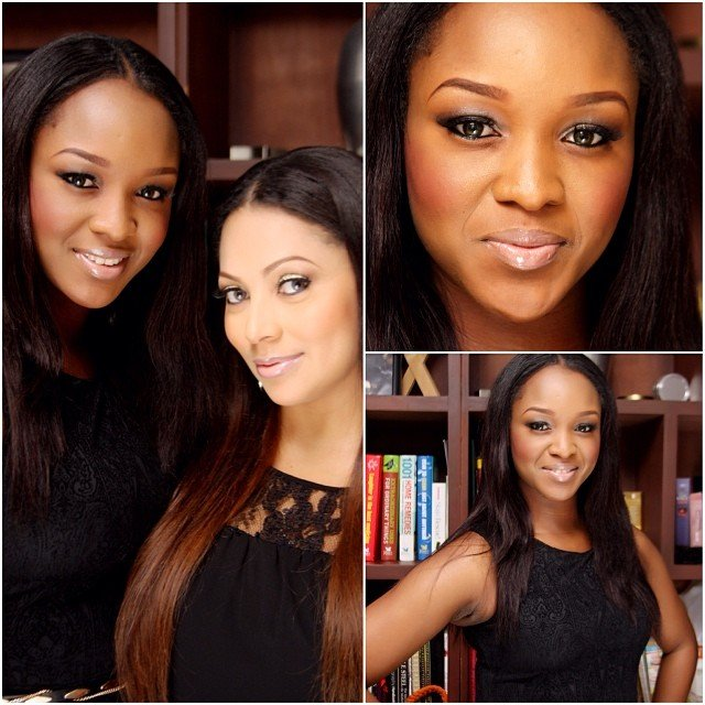 Awww, Read the lovely birthday message from Lola Omotayo to Anita Okoye