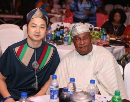 Yoruba actors grace the premiere of Oga Bello's Alagbara series (Photos)