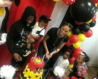 Wizkid Throws Mickey Mouse Themed Birthday Party for his 3rd Son, Zion (Photos)