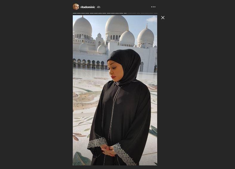 Check out vacation photos of Rita Dominic in Dubai