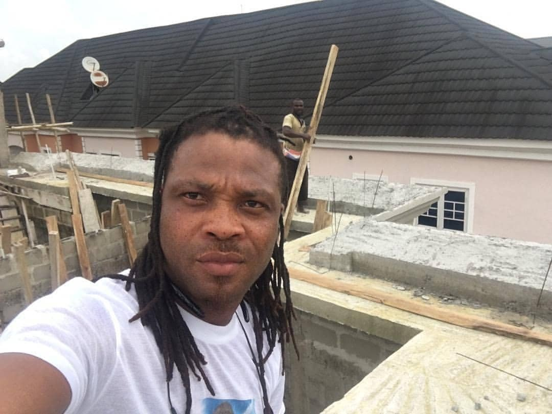 African China replies troll who advised him to stop flaunting his uncompleted house