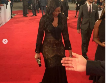 Check out how Genevieve Nnaji appeared at the screening of her movie at Marrakech Film Festival in Morocco