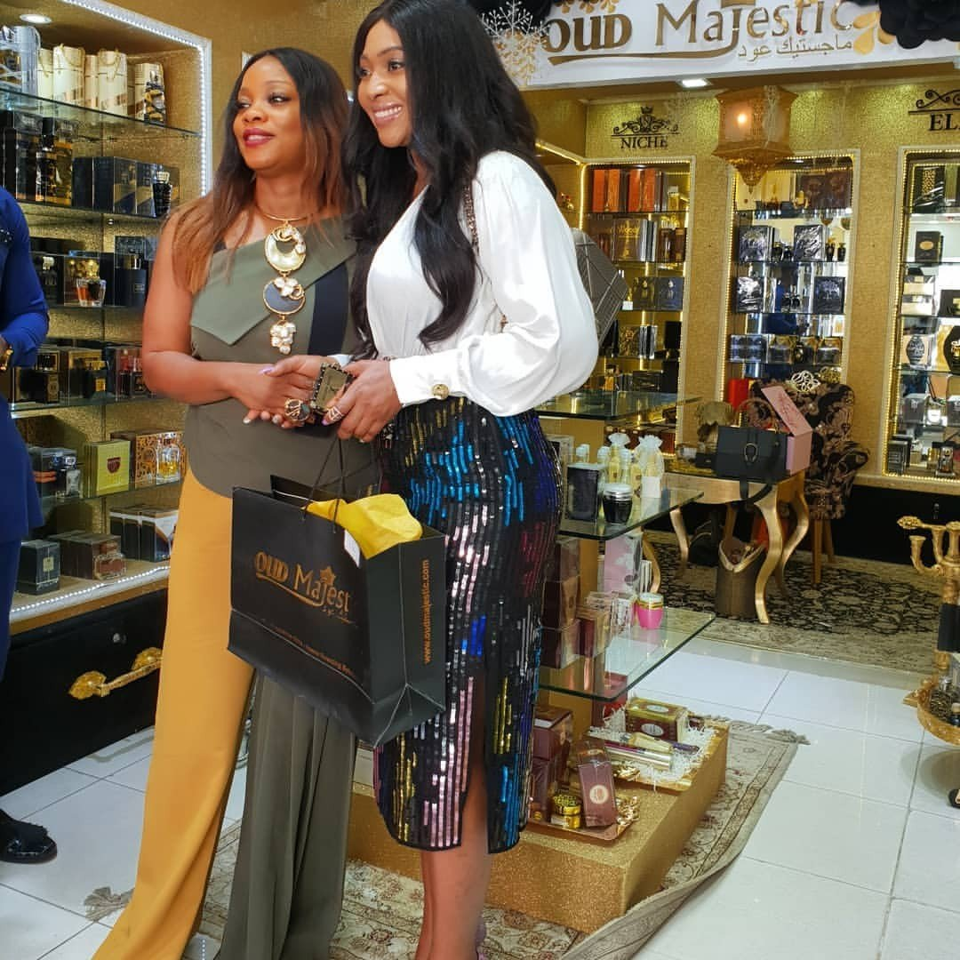 Lilian Esoro joins the OUD Majestic Perfume as brand ambassador