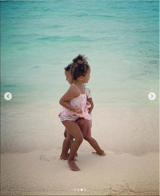 Check out these cute photos of Mikel Obi's twin daughters