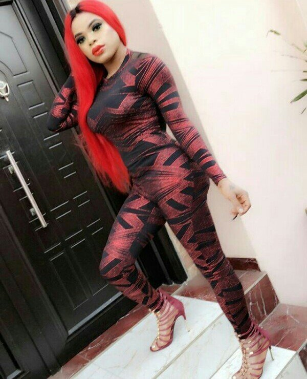 Bobrisky is looking all curvaceous in this new photos