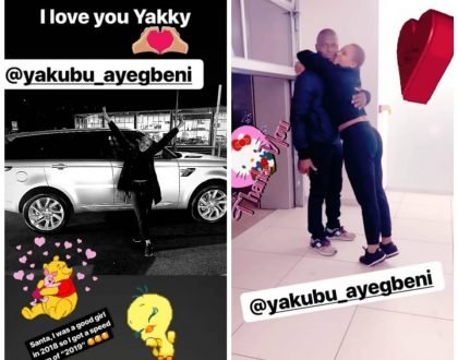 Yakubu Ayegbeni gifts his wife a Range Rover for Christmas