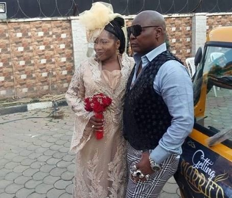 CharlyBoy remarries his wife of 40 years, Lady Diane in grand keke style