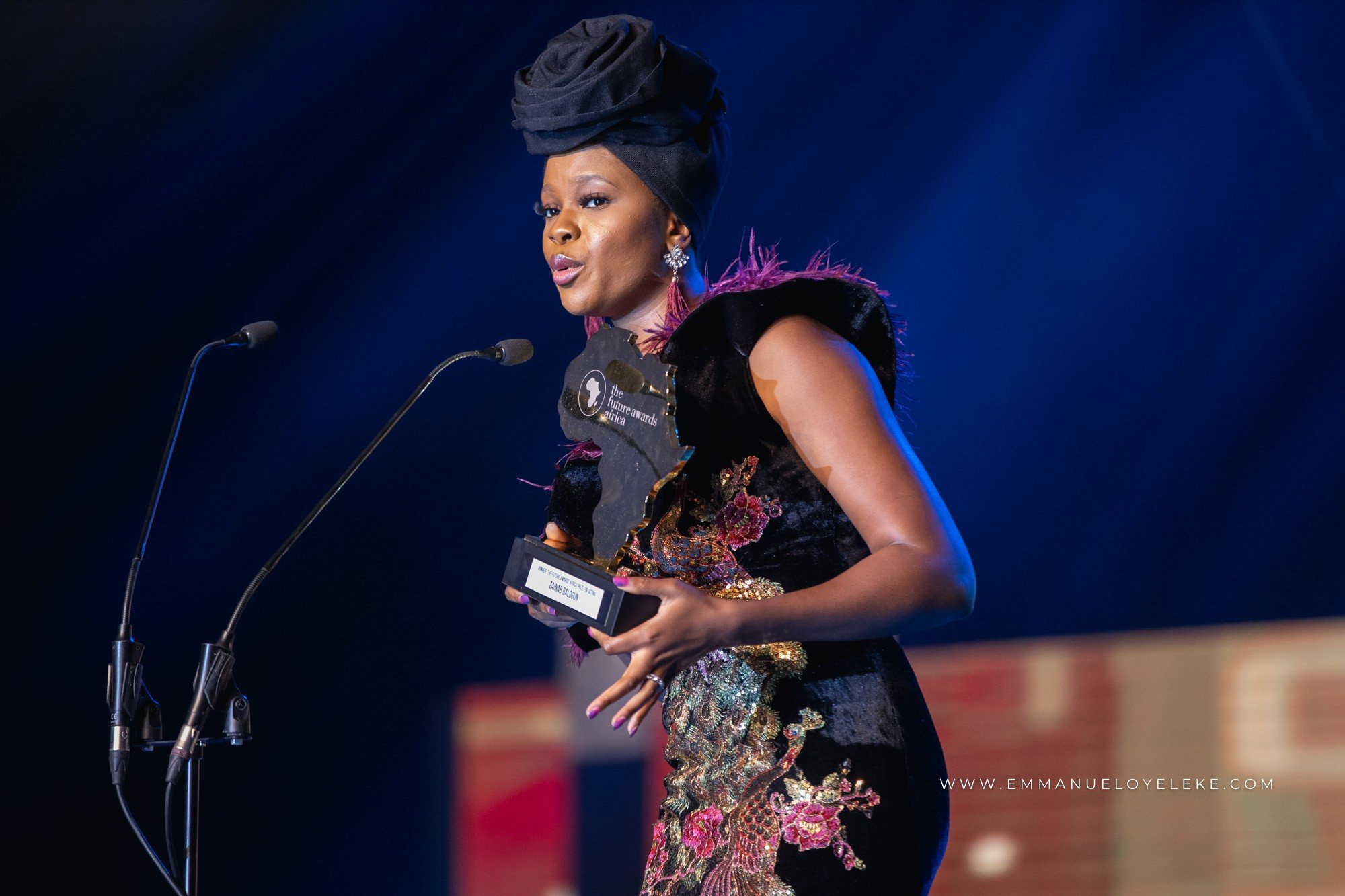 Check out photos of celebrities that attended the Future Awards Africa 2018