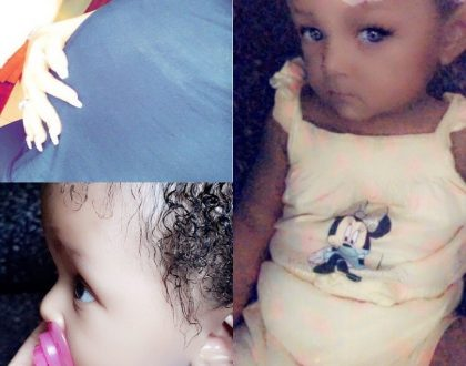 Gifty Powers shares photos of her daughter as she celebrates her 1st year birthday today