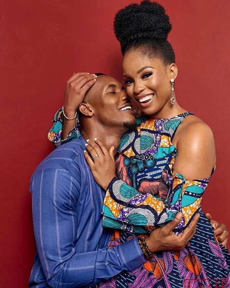 Image result for gideon okeke and chidera pre wedding
