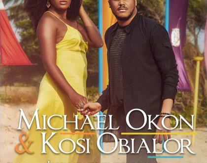 Actor Michael Okon and his fiancee, Kosi Obialor grace the cover of SuperBold Magazine