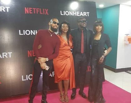 Photos from the private screening of Geneveive's movie Lion Heart
