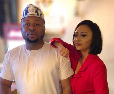 Rosy Meurer rebukes curses on behalf of Olakunle Churchill as he celebrates birthday