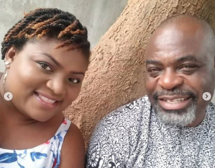 Actor Funsho Adeolu and wife celebrate their wedding anniversary
