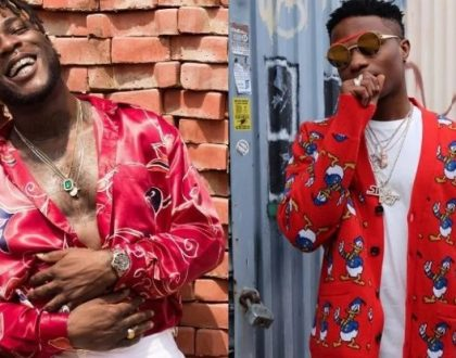 Photos of Burna Boy and Wizkid during their vacation