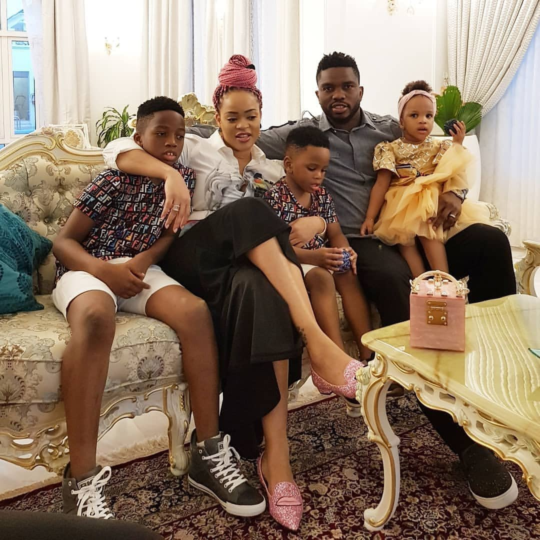 See these lovely family photos of the Yobo's