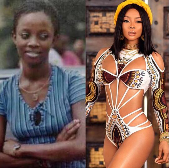 See the 10-year challenge photos of some Nigerian celebrities