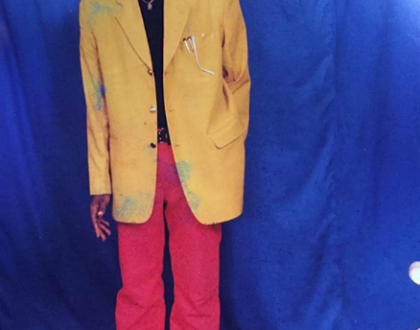 Lol!!!!!!! see throwback photo of singer Kcee
