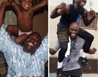 Hip TV Boss, Ayo Animasaun and his son join the 10-year challenge