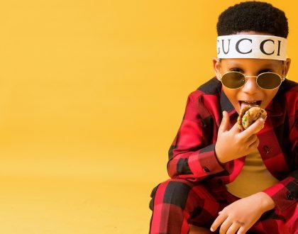Toyin Lawani's son, LordMaine launches biscuit brand and YouTube Channel