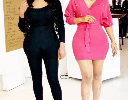 Check out these Photos of Tonto Dikeh and Bobrisky