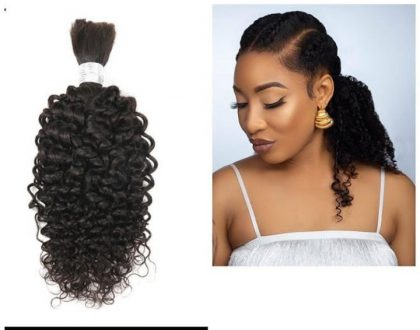 Tonto Dikeh launches the King Tonto hair line collection