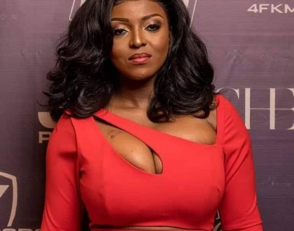 Yvonne Okoro reveals that she is keeping her man out of the public eye