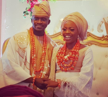 Shade Ladipo is officially married to her boo (wedding photos)