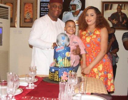 Photos from Femi Fani-Kayode's first son 3rd year birthday