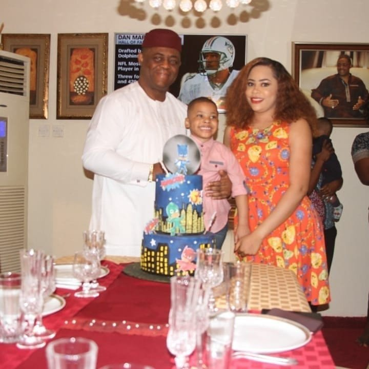 Photos from Femi Fani-Kayode's first son 3rd year birthday