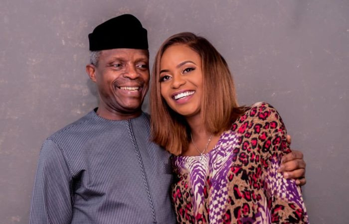 Kiki Osinbajo prays for the people who wish her father death