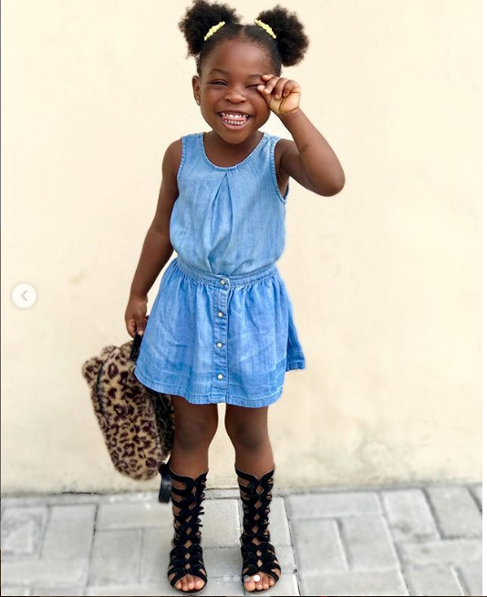Imade Adeleke looking all shades of cute in these photos