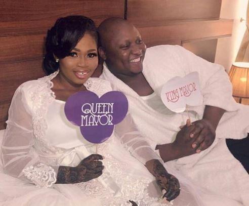 Photos from actress Tawa Ajisefinni wedding in Ibadan