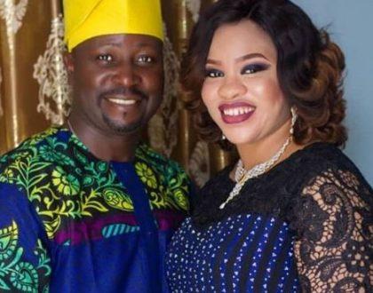 Actress Mosun Filani celebrates 7 years anniversary with her husband