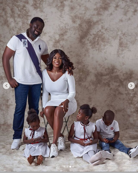 """""""Family is everything""""- Mercy Johnson-Okojie as she shares new family photos"""