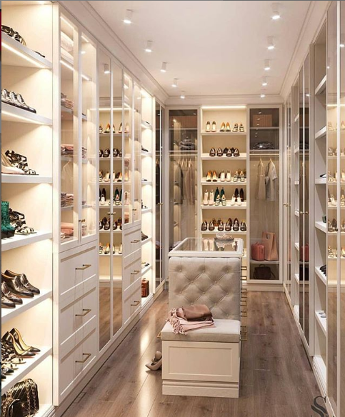 Mercy Aigbe flaunts her closet, says it's a mess
