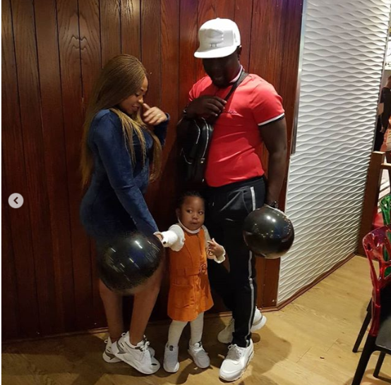 Photos of comedian Seyi Law and his family enjoying a night out in London