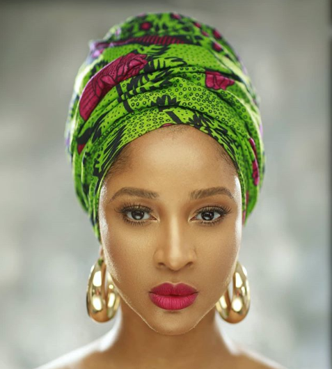 Nollywood actress Adesua Etomi-Wellington clocks 33 today
