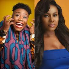 Nigerian music sisters, Niniola and Teni being playful in this video