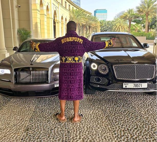 Hushpuppi buys himself a brand new Rolls-Royce Wraith