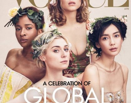 Adesua Etomi Featured on the Front Cover of Vogue Magazine's April Issue