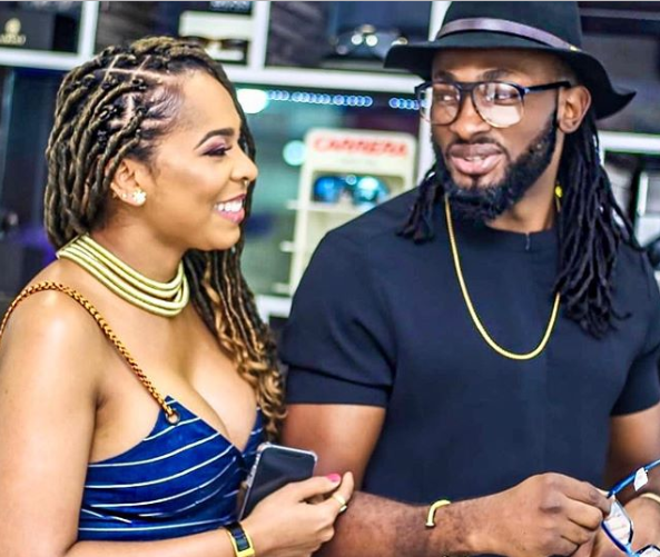 Uti Nwachukwu reacts to rumors that TBoss is carrying his child