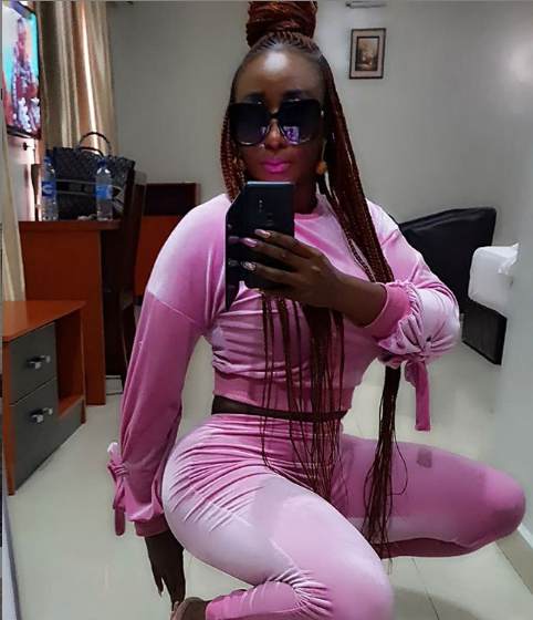 Check out Ini Edo's curves in these new photos