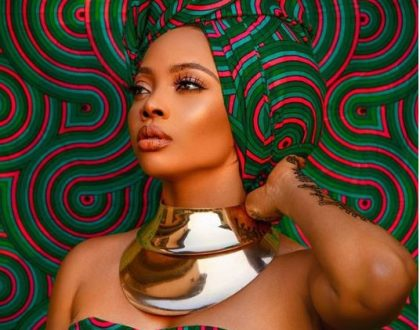 Toke Makinwa marches into March with a stunning photo