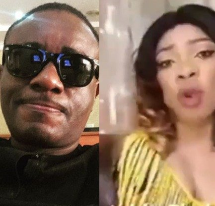 Emeka Ike berates the Nigerian woman selling a mystic bottle that can cage irresponsible husbands