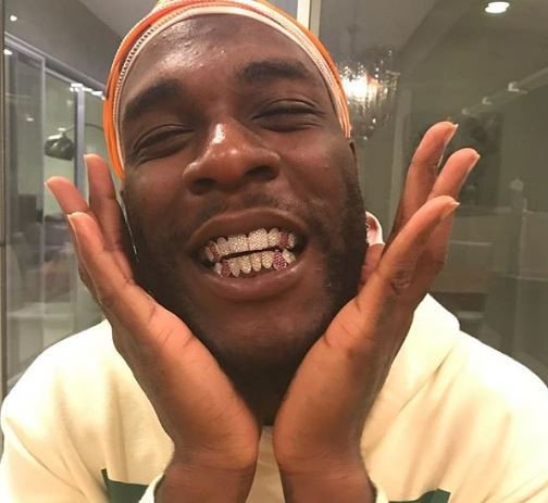 Burna Boy gets a new set of grills
